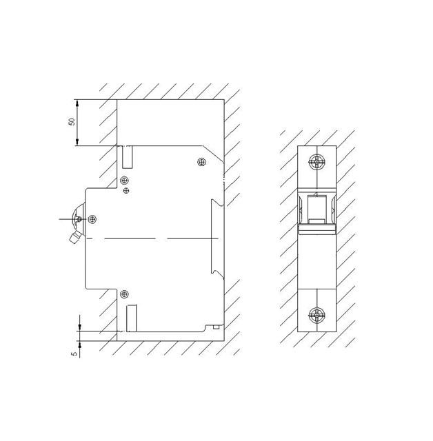 Минимально-допустимые расстояния от выключателя до металлических частей