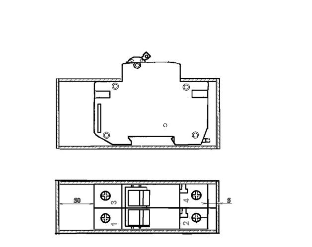 Минимально-допустимые расстояния от выключателя до металлических цепей