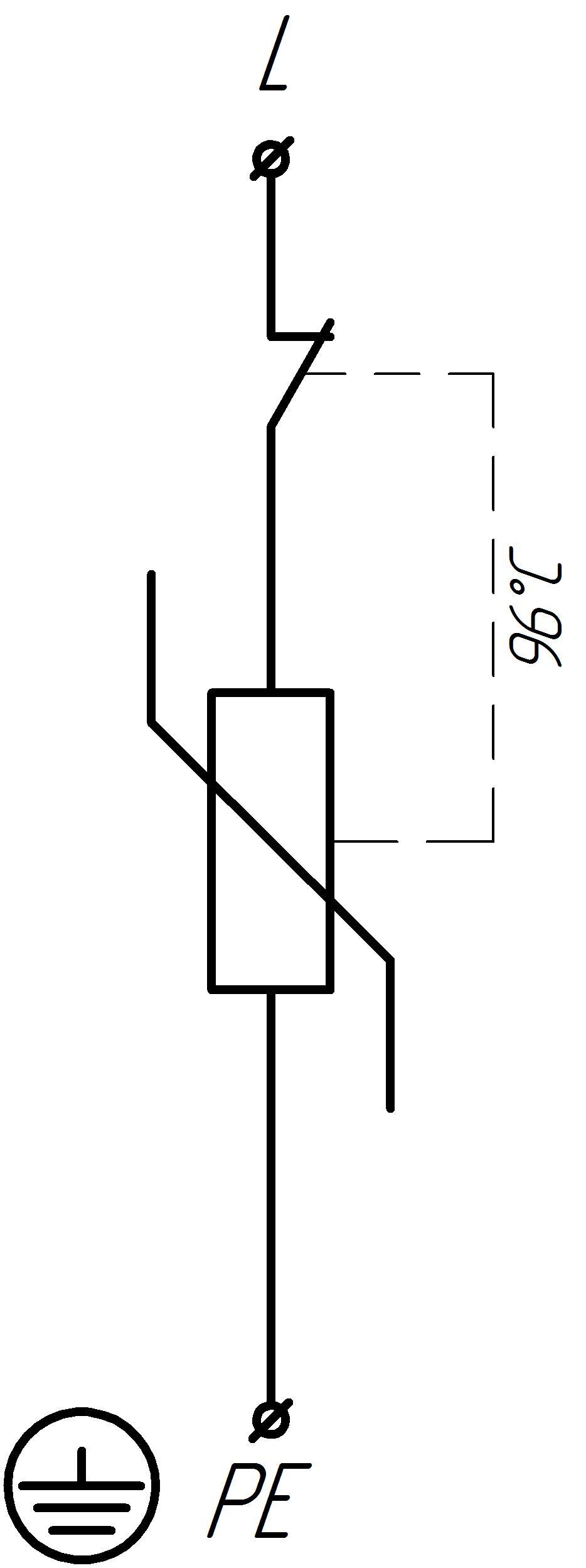 Схема УЗИП-ЭЛТА